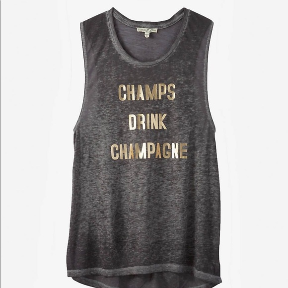 Express Tops - Express Graphic Muscle Tees